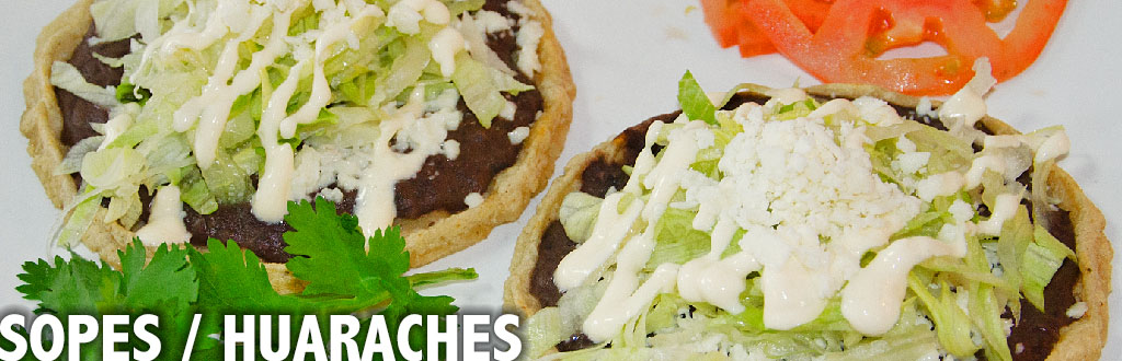 sopes huaraches